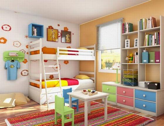 צביעת חדר ילדים